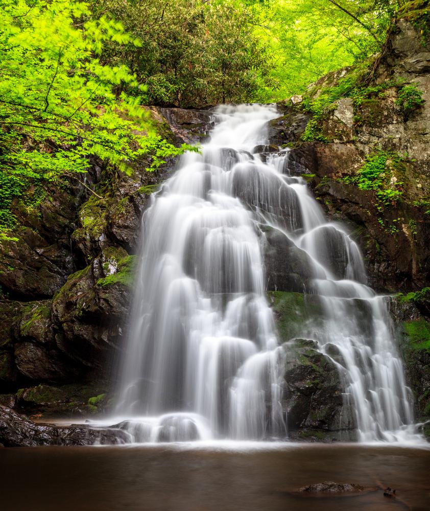 Spruce Flats Falls, North Carolina waterfall