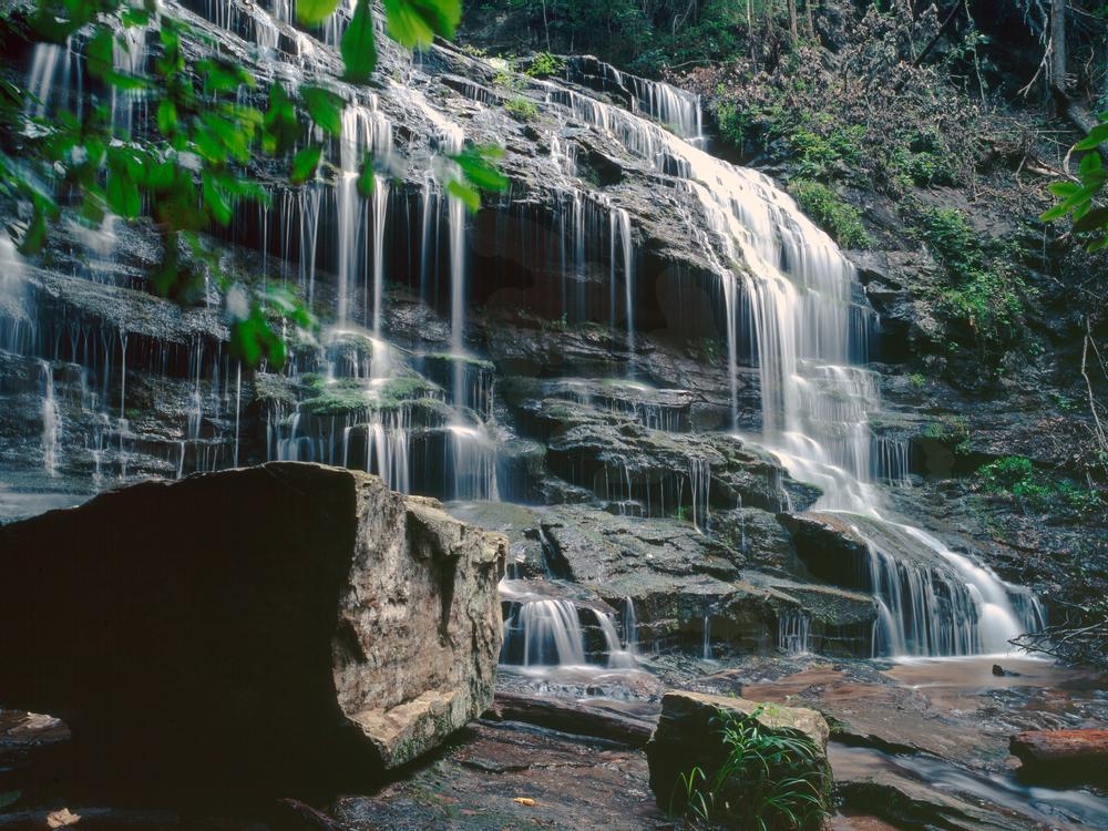 Waterfalls in South Carolina - Station Cove Falls