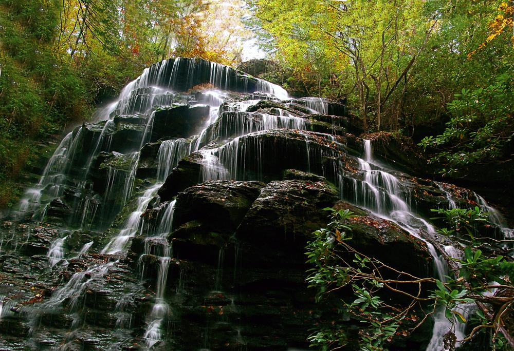 Yellow Branch Falls - Waterfalls in South Carolina