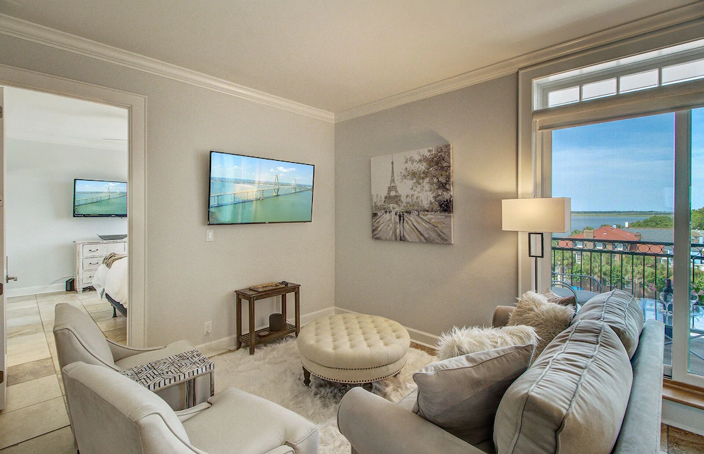 A photo of a VRBO in Charleston with a view of the ocean.