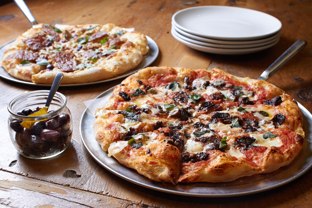Upscale pizzas like those available at Dough Pizzaria, one of the best restaurants in San Antonio