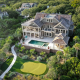 photo of one of the best vacation rentals in Charleston showing a pool and golf course