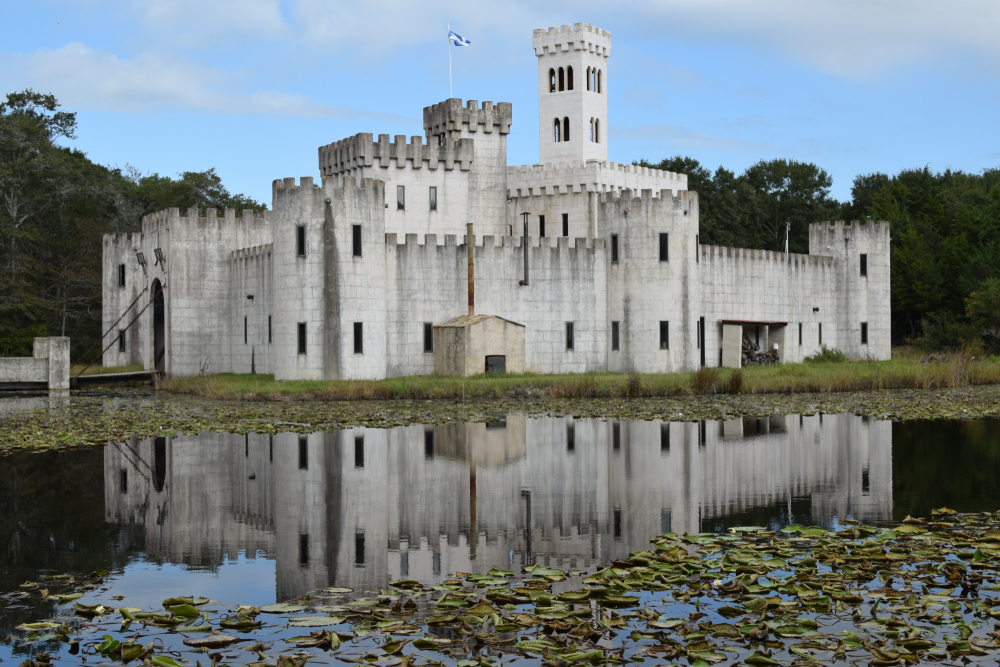 One of the coolest road trips in Texas, the fantay Texas castles road trip