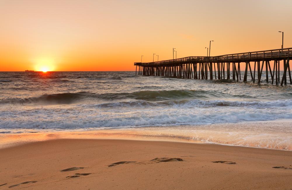 Virginia Beach is one of the most popular weekend getaways in Virginia.