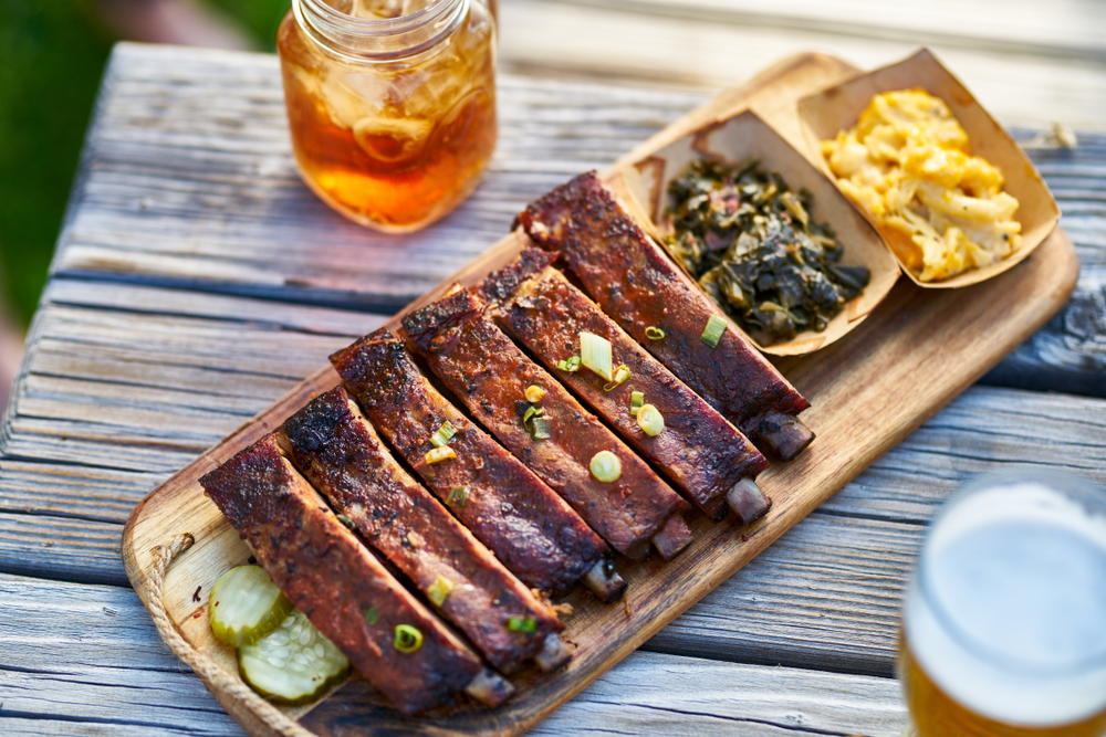 Come try some ribs at peg leg porker