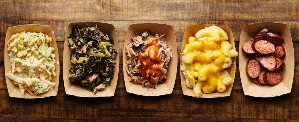 From smoked sausage, pulled pork and sides