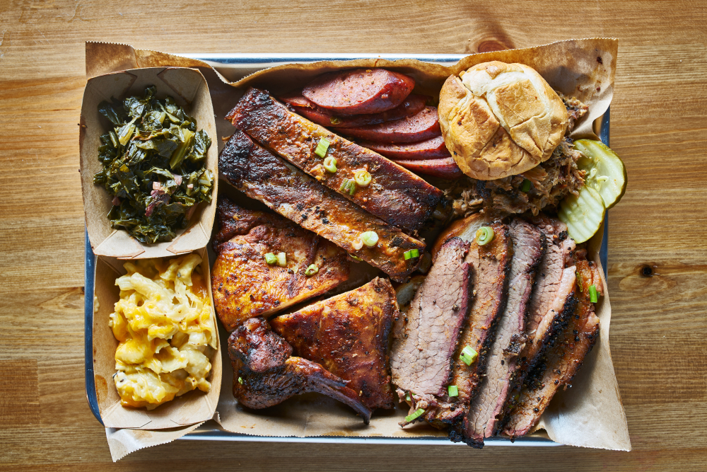 BBQ at one of the best restaurants in Charleston South Carolina