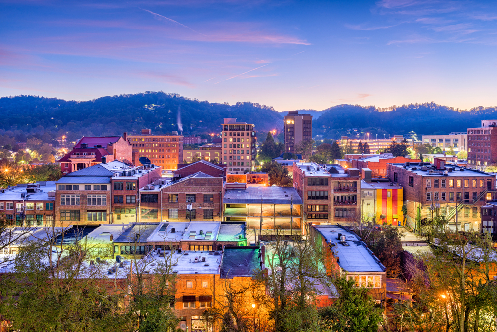 Located in North Carolina's Blue Ridge Mountains, Asheville is definitely one of the cities in the south you should visit if you are a lover of art