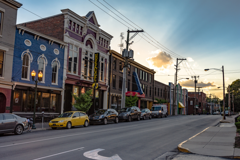 Lexington is where you want to be if you enjoy nightlife as there are no end of amazing cocktail bars, distilleries, and live music venues.