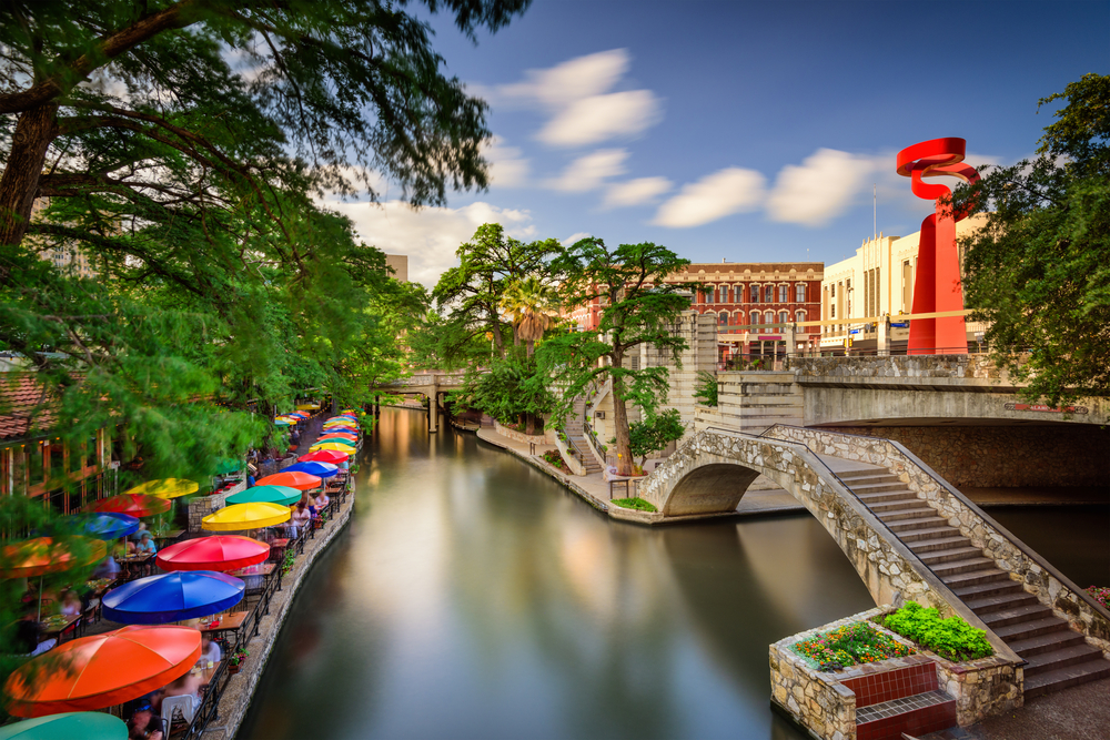 San Antonio is one of the most populous cities in the south, it's actually the seventh most populated in the entire united states!
