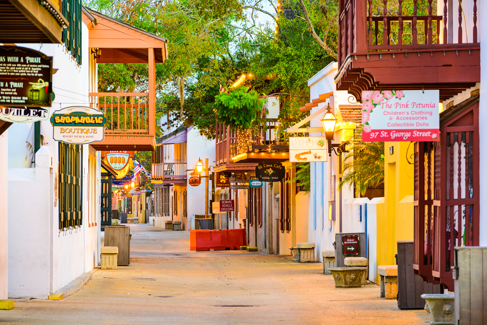 If you are a fan of all things haunted, then Saint Augustine is definitely one of the cities in the south that you should visit