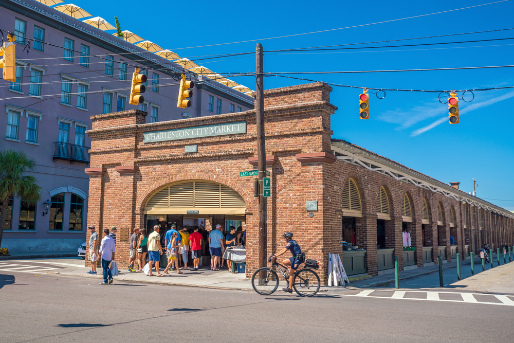 Photo of the Historic Charleston City Market one of the things to do in Charleston