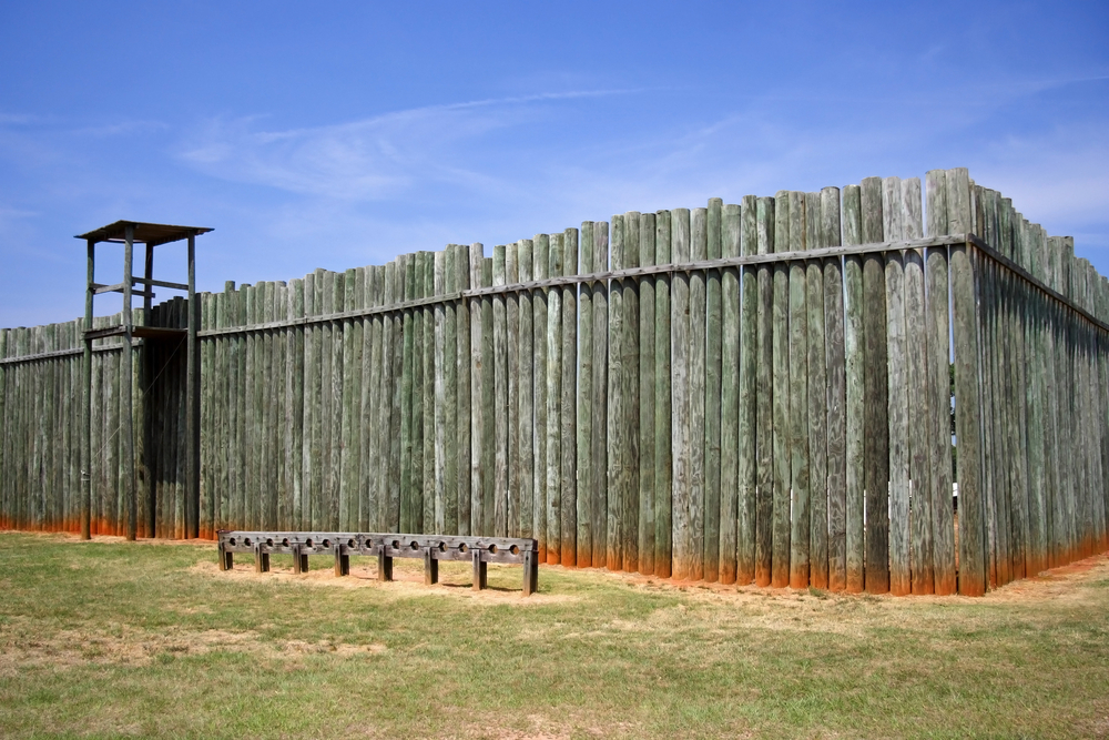 Photo of Andersonville, a national historic park in Georgia.
