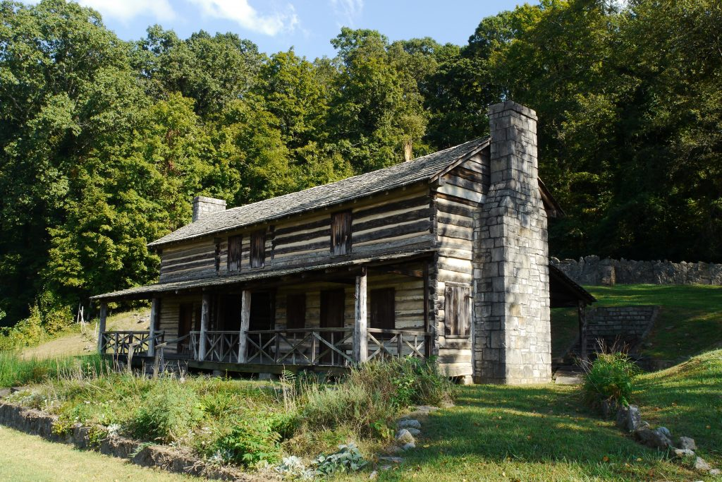 Photo of the John Ross House along the Trail of Tears, one of the best national parks in Georgia.