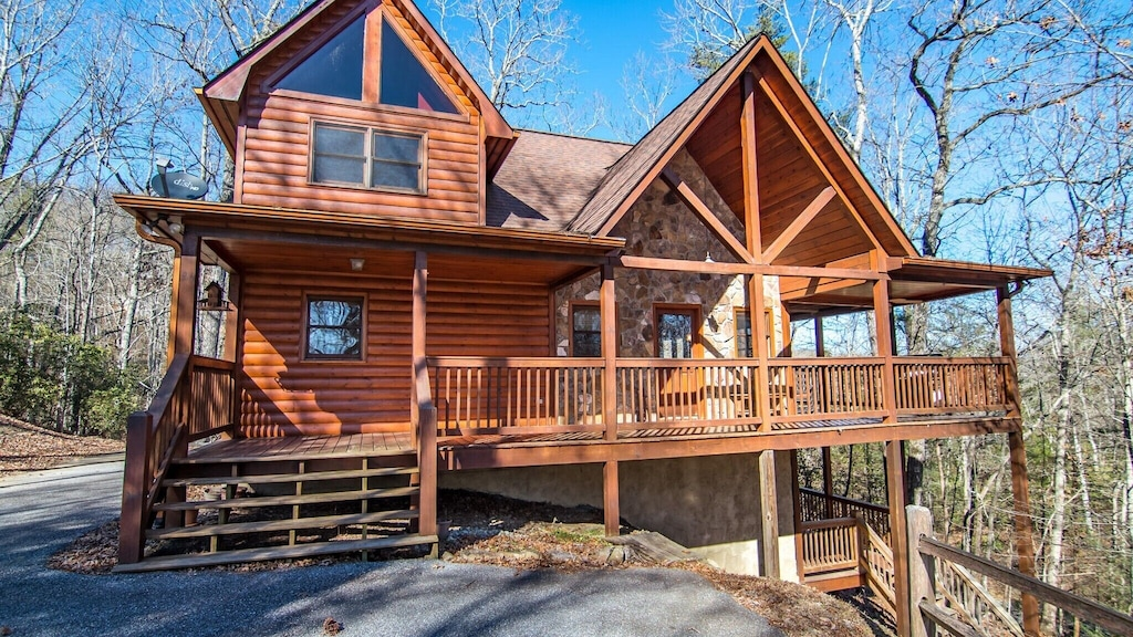 Come checkout this blue ridge Georgia treehouse just minutes from downtown