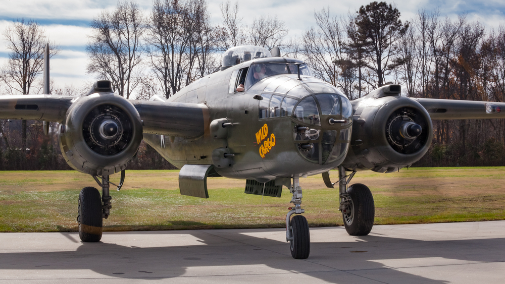 """A plane named """"Wild Cargo"""" at the Military Aviation Museum in Virginia Beach, VA."""