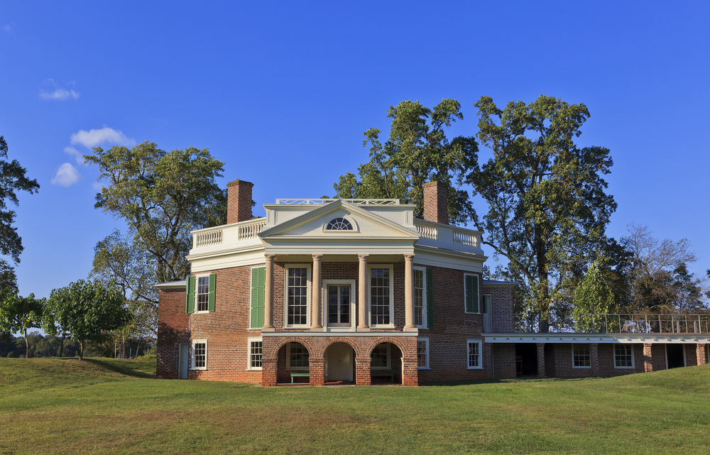 The house at Poplar Forest.