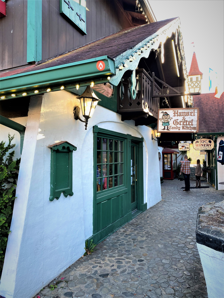 Photo of the exterior of Hansel & Gretel Candy Kitchen, one of the best things to do in Helen.