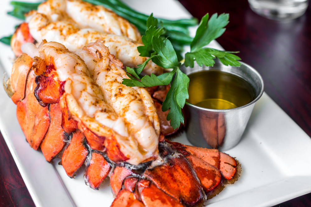 lobster and butter sauce