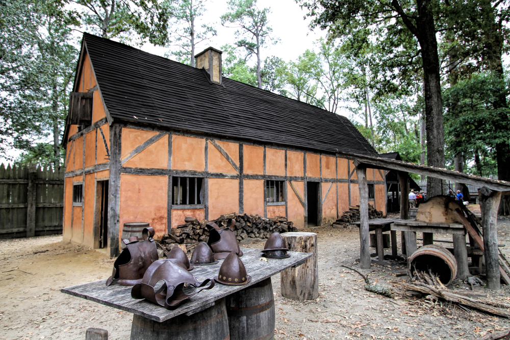 Jamestown is part of the Historic Triangle Road Trip in Virginia.