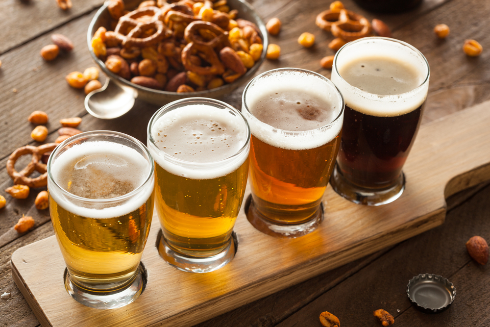 There is craft beer to try during your trip.