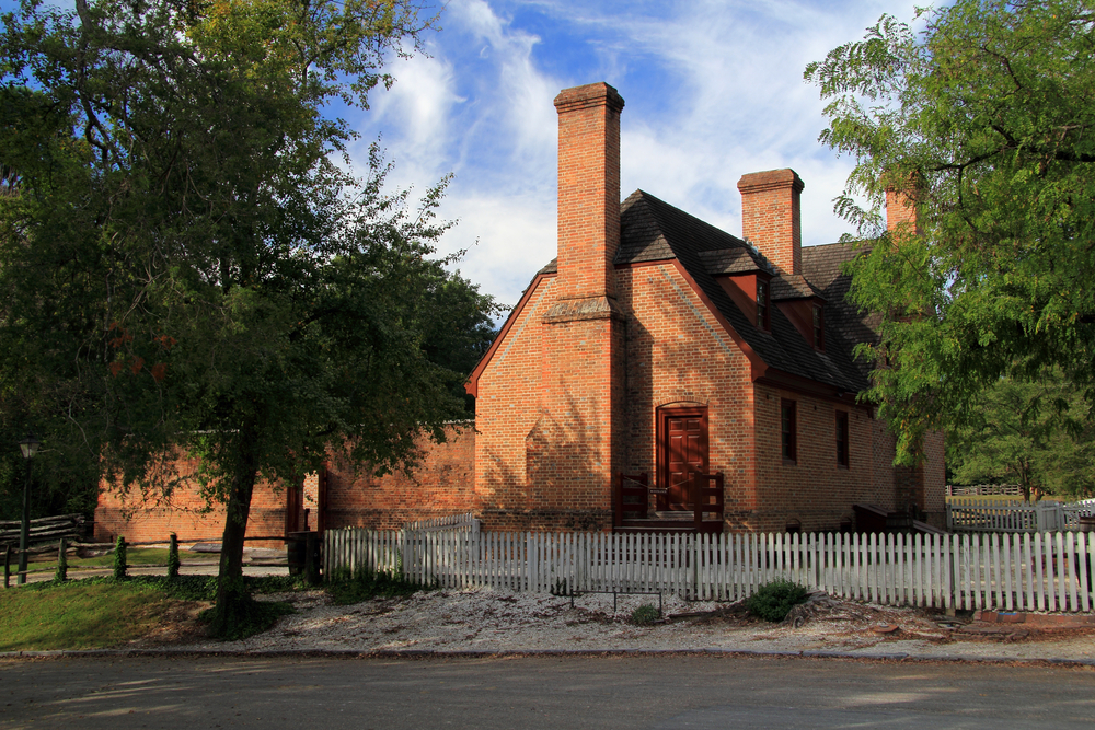 The Old Jail is one of the most haunted places in Williamsburg.