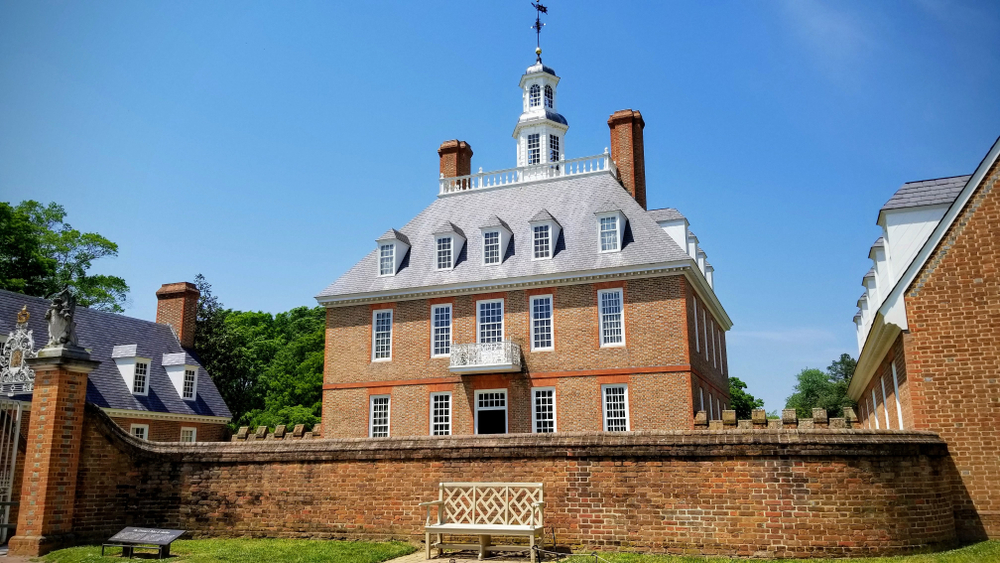 The Governor's Palace is one of the most popular things to do in Williamsburg