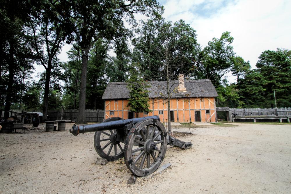 Visit Jamestown to see where American history began.
