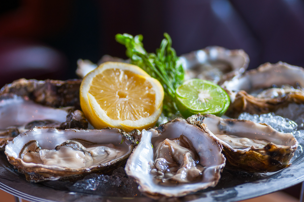 You have to try oysters while in Virginia.