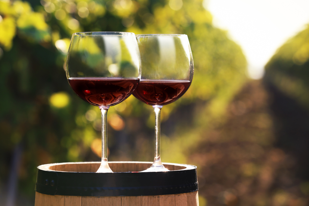 Try wine at the romantic Williamsburg Winery.