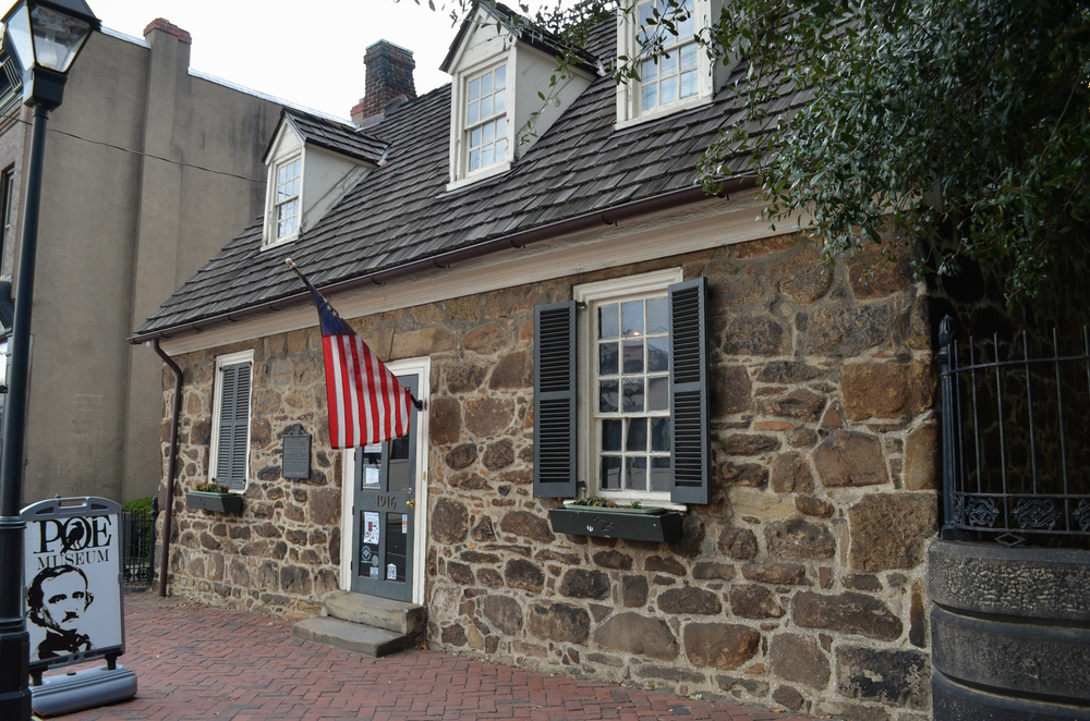 Photo of the outside of the Poe Museum, one of the best things to do in Richmond
