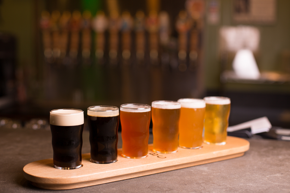 A craft beer tour is the perfect Roanoke activity for friends.