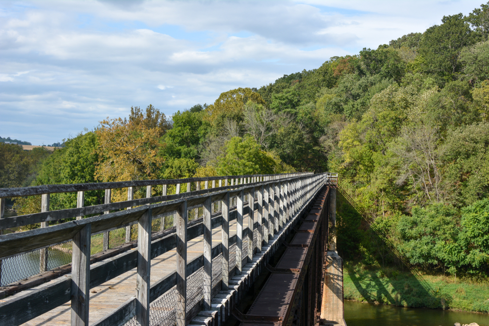 Take time to hike or bike the Roanoke Valley Greenways.