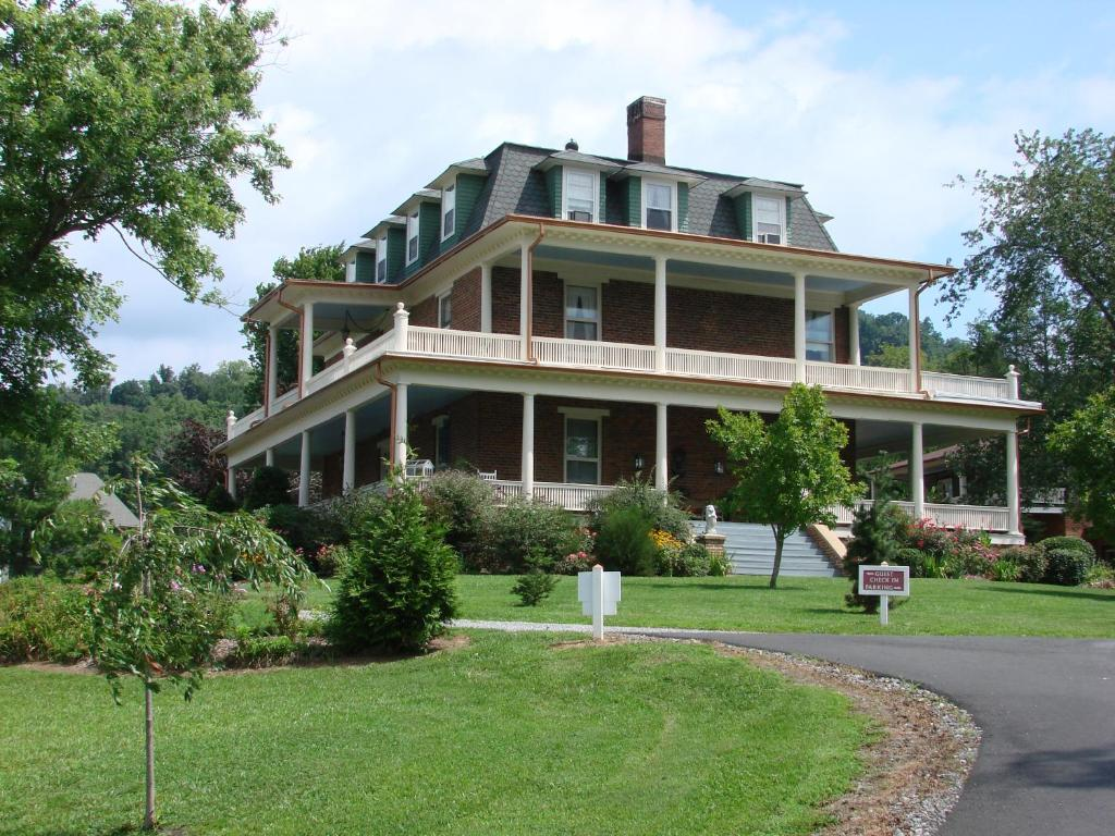 One of the beautiful mansion bed and breakfast in Asheville