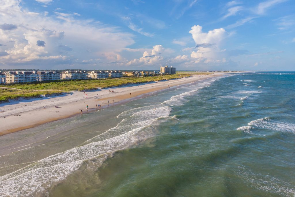 The Wrightsville Beach in Wilmington is one of the best things to do in North Carolina.