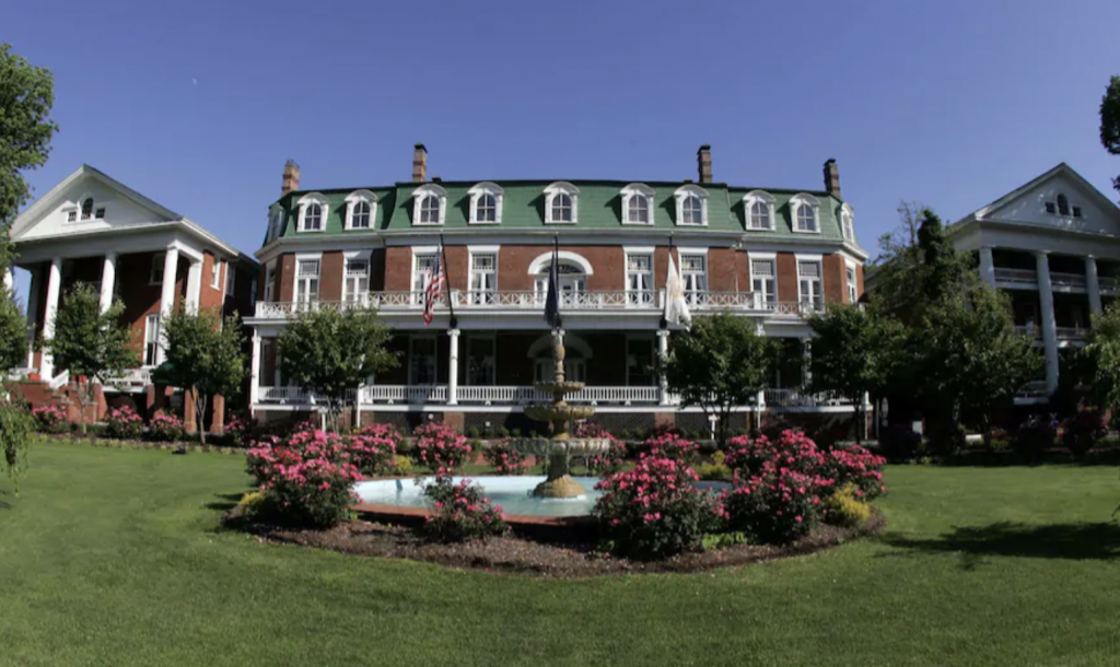 Many soldiers died in the hotel during its time in the civil war, and it is said that some of their souls never left making it one of the most haunted places in virginia
