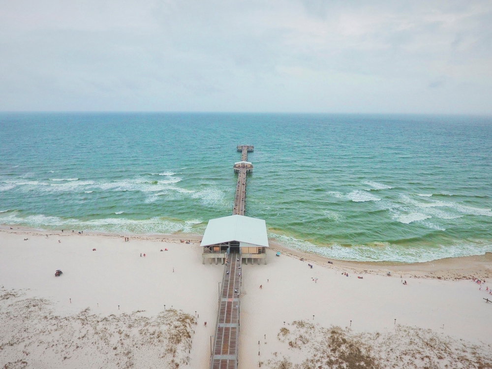 Gulf State Park is one of the best beaches in Alabama.