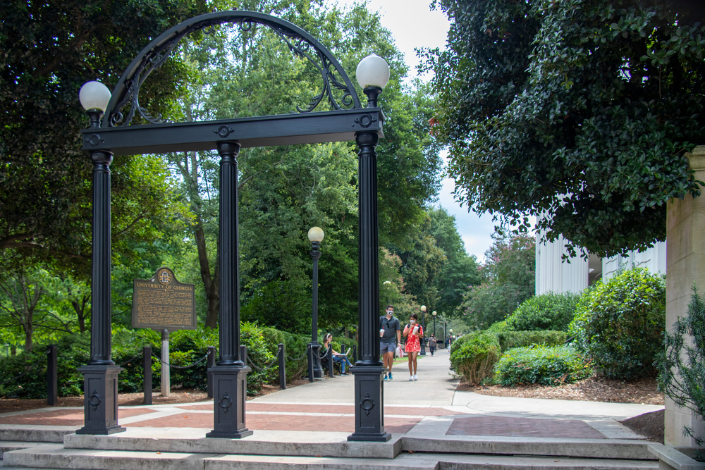 The Arches at the University of Georgia.