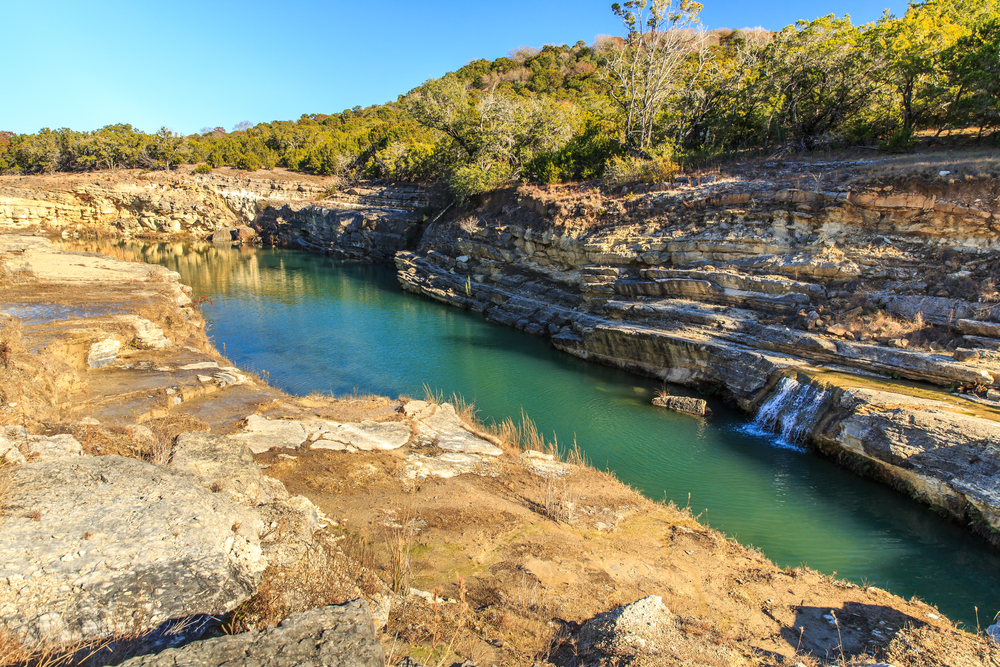 The recently formed geological feature is one of the most unique things to do in Canyon Lake Gorge.